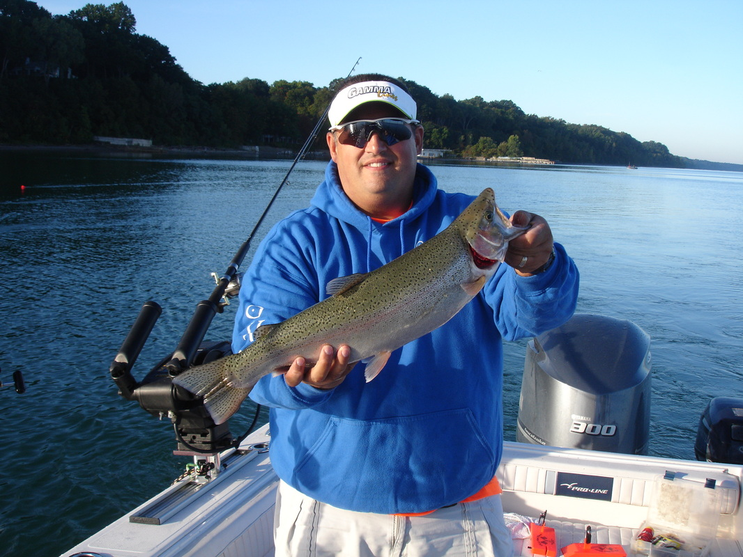 Fishing report 9 25 14 outcast fishing charters llc for Fishing trips in pa